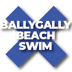 Ballygally Beach Swim Logo